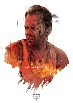 John Mcclane Die Hard Two Tribute Best Movie Posters, Film Posters, Theatre Posters, Theater, Series Movies, Movie Characters, Hero Movie, Movie Tv, Movie Synopsis