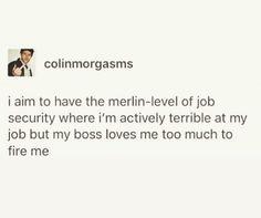 Merlin Memes, Merlin Funny, Merlin Merlin, Prince Arthur, Merlin Fandom, Fandom Jokes, Merlin And Arthur, Superwholock, Tumblr Funny