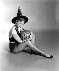 Etchika Choureau, Halloween Witch, 1958