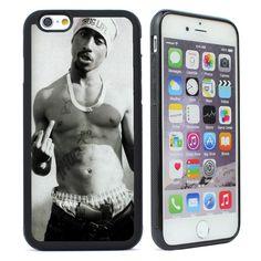 TUPAC SHAKUR Silicone Case Cover for iPhone 4s 5 5S SE 5C 6 6S Plus Phone Case #UnbrandedGeneric
