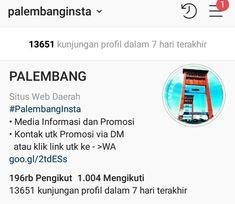 Palembang, Shopping, Profile