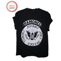 PRONTA ENTREGA - T Shirt Ramones