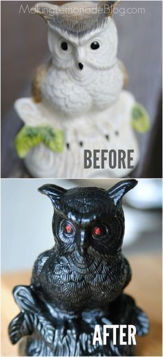 DIY Dollar Store Halloween Decor (That Doesn't Look Like It!) - I'm on a mission to prove you can get a high-end Halloween look on a dime, without sacrificing m…