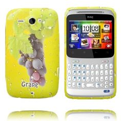 Fresh Fruit (Grape - Dark Sort) HTC ChaCha Cover