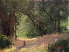 California Trail by Marc Hanson Pastel ~ 9 x 12