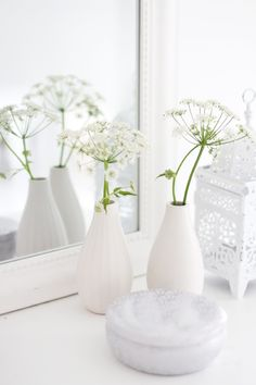 White home decoration