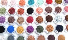 Eye Shadow Mineral Makeup - Choose Your Own - 5 Eye Colors - Eyeshadow/Eyeliner - Hand Crafted and All Natural- Makeup. $23.99, via Etsy.
