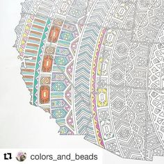 Have you seen this beautiful work in progress by @colors_and_beads?  The map of United States is going to make the perfect wall art! I like the idea of only pressing the pencils harder in the areas of the visited states - they really pop on the map!  What states have you all been to?