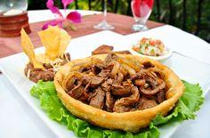 Maya Steak at the San Ignacio Resort Hotel...this will really change your mind if you're vegetarian ;) #luxuryfoodbelize #belizerestaurant