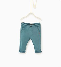 Trousers with plaited details-NEW IN-BABY BOY | 3 months-3 years-KIDS | ZARA United States
