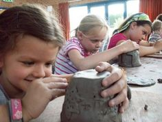 Pottery, Fun with Clay, Youth Sandy Springs, Georgia  #Kids #Events