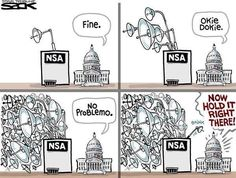 NSA okay for them, not for us! menschenrechte:  #nsa#surveillance#WhiteHouse#USA#Government#freedom#politics#constitution#privacy#law#justice#fail#MerkelEffect