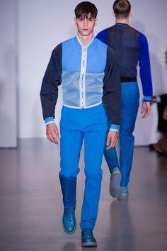 Calvin Klein Collection Spring 2014 Menswear Collection Slideshow on  Style.com Moda Primavera Verão, c368032d39
