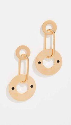 Marni Metal Earrings with Strass Brincos, Brincos De Cristal, Miçangas,  Metal, Ouro d9af2a50ab