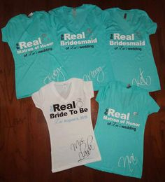 Bachelorette Party Shirts Real Housewives Bride by CustomDesigns43