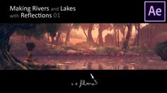 "Lesson 1/4 | How To Animate ""Reflections"" in Adobe After Effects 