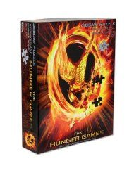 The Hunger Games Movie Jigsaw puzzle 1000 pieces  $14.99 - how cool would it be to do this puzzle then frame it?