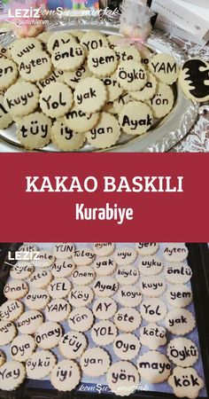 Kakao Baskılı Kurabiye Kakao, Turkey Cake, Biscotti, Cake Decorating, Cereal, Food And Drink, Cookies, Chocolate, Breakfast