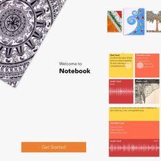 Zoho Notebook app for iOS