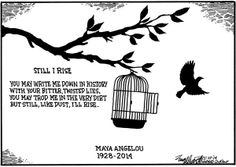 I know why the uncaged bird is singing.