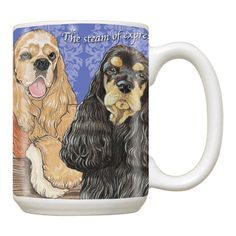 Ceramic Mug - Cocker Spaniel Trio