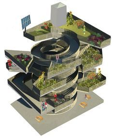 greenhouse with multiple levels images | 1000+ images about futur archi on Pinterest | Skyscrapers, Futuristic ...