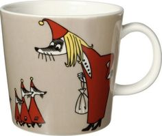 Another Moomin mug, this one the Fillyjonk. From The Moomin Shop.
