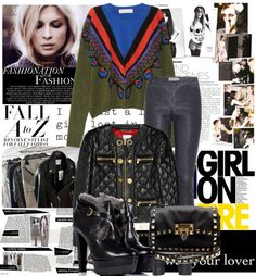 """""""leather love"""" by missstory on Polyvore"""