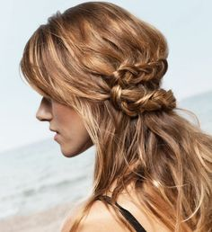 Cute plait idea!