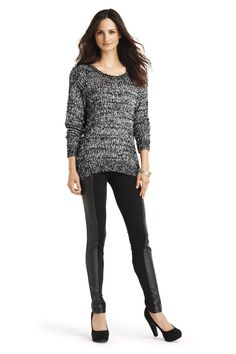 iJeans by Buffalo sweater and leggings