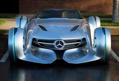 2011 Mercedes-Benz Silver Arrow Concept - Fangios 1954 Mercedes-Benz Silver…