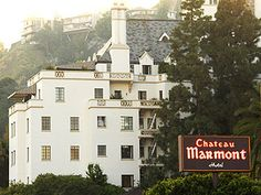 Chateau Marmont, Los Angeles-and we thought we were so cool.....memories..