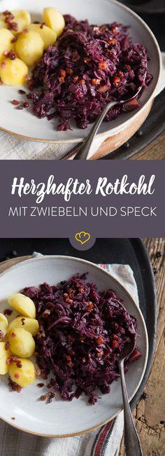 Inspirational Apfel Rotkohl Rezepte Mein sch nes Land Mein sch ner Garten Delicious Pinterest Apple pear Red cabbage and Delicious dishes