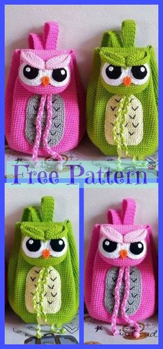 Crochet Backpacks - Free Patterns Cute Crochet Backpacks - Free PatternsCute (disambiguation) Cuteness is a form of attractiveness associated with youthful traits. Cute may also refer to: Crochet Backpack Pattern, Crochet Drawstring Bag, Crochet Giraffe Pattern, Crochet Shark, Crochet Dolls Free Patterns, Crochet Unicorn, Crochet Designs, Crochet Girls, Cute Crochet