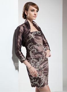 dc272938377 Mother of the Bride Dresses - $146.99 - Sheath Strapless Short/Mini Taffeta  Mother of