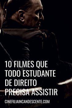 10 filmes que todo estudante de direito precisa assistir. #filmes Cinema, Entertaining, Tv, Leis, Movie Posters, Movies, Girly, Funny Movies, Movies To Watch