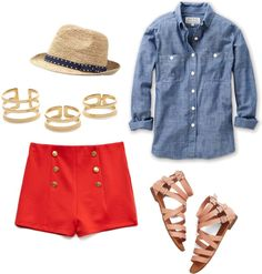 Chambray Shirt - hat
