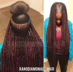 75 Awesome Box Braids Hairstyles You Simply Must Try - Hairstyles Trends Black Girl Braids, Braids For Black Women, Braids For Black Hair, Girls Braids, Box Braids Hairstyles, Hairstyles 2016, Medium Hairstyles, Hairstyle Ideas, Ponytail Styles