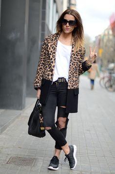 b leopard