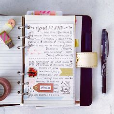 Things I Want and Things I Write on my Planner
