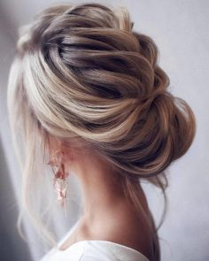 Loose & Romantic Wedding Hair from Tonystylist ~ such a pretty loose updo style. wedding hair inspiration - hair up - up do - Celebrate the Occasions Cedar City Utah Wedding Hairstyles For Long Hair, Wedding Hair And Makeup, Up Hairstyles, Hair Makeup, Hair Wedding, Bridal Hairstyles, Hairstyle Wedding, Bridal Updo, Hairstyle Ideas