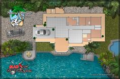 House for sale in the Philippines (Drawings is a artist conception and not exactly to scale)