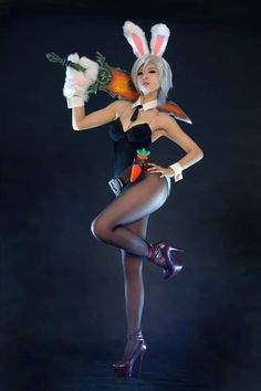Battle Bunny Riven by SpcatsTasha on deviantART