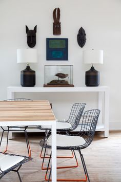 Inspiration for a gorgeous, clean space with a distinctive identity in a contemporary setting.