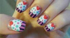 "I love nails ""cake"""