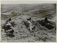 Republican Army snipers on the Aragon front during the Spanish Civil War, September 11, 1936 (1500X1127)