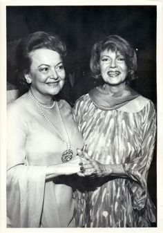 Olivia de Havilland and Rita Hayworth