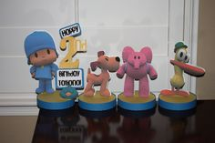 Pocoyo Personalize Birthday Party Centerpiece. $38.50, via Etsy.