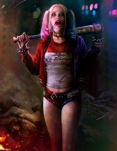 Harley Quinn by mehdic.deviantart.com on @DeviantArt - More at https://pinterest.com/supergirlsart/ #dccomics #harleyquinn #suicidesquad #suicide #squad #fanart #movie