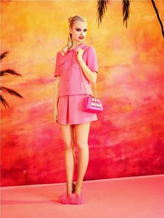 Moschino Cheap and Chic Spring/Summer 2014 Lookbook - My Face Hunter
